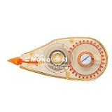 TOMBOW Correction Tapes [CT-CF5C50] - Transparent Orange - Tippex Roller / Correction Tape